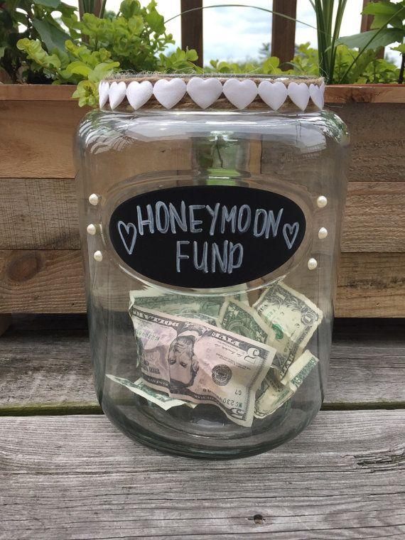 Honeymoon Jar by farmhousefortysix on Etsy