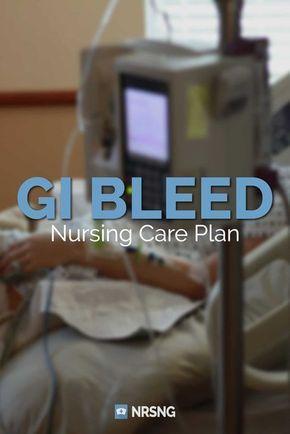 Nursing Care Plan for GI Bleed