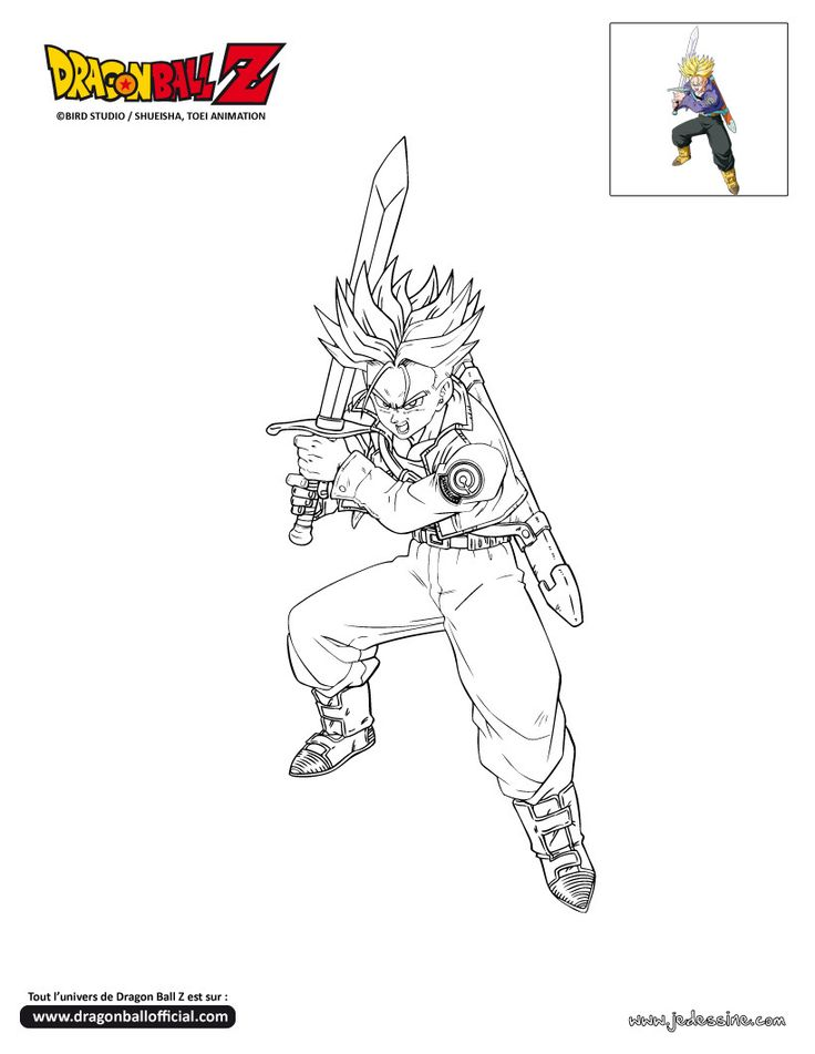 23 besten Dragon Ball Z Coloring