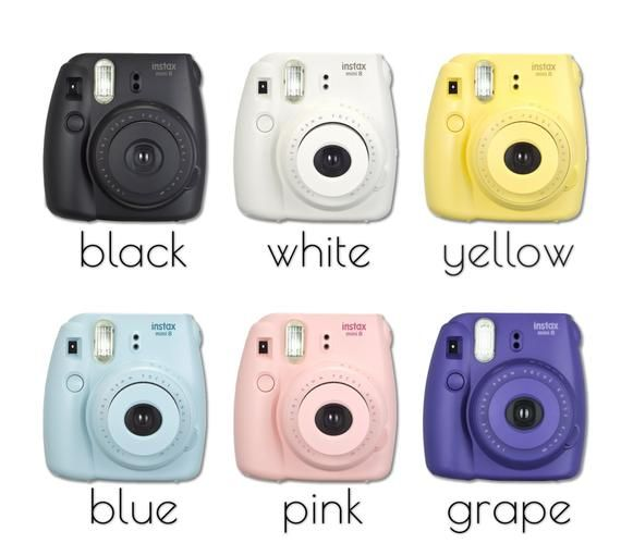 Fujifilm Instax Mini 8 Photo Camera Fujifilm Instant Camera