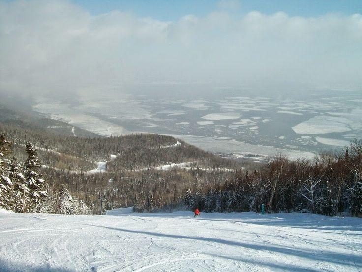 Massif de Charlevoix skiing