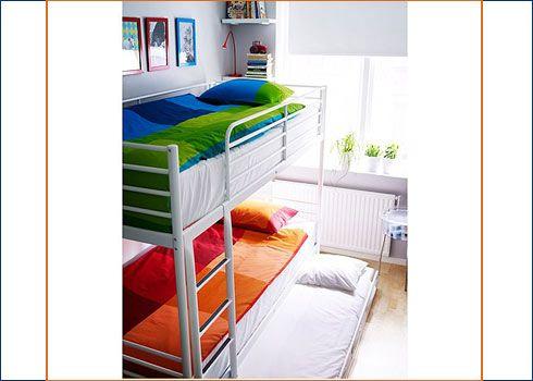 Cama nido y litera bunks for bruno hugo pinterest - Literas 3 camas ikea ...