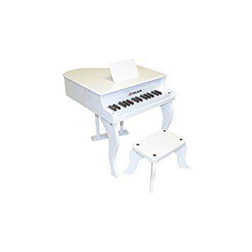 Delson 3005W Piano à queue pour enfant Blanc