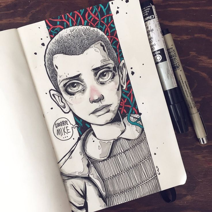 Charringo: Eleven from Stranger Things for Sketch Dailies