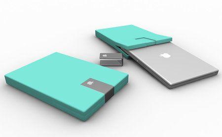 mint laptop case groovy