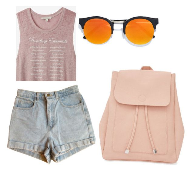 """""""likes"""" by kristyna-r on Polyvore featuring Express, American Apparel, LULUS and New Look"""