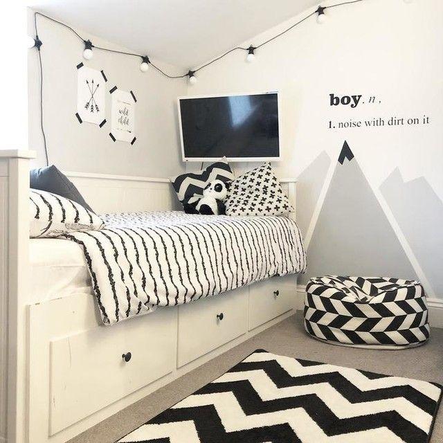 Hemnes White Malfors Medium Firm Day Bed W 3 Drawers 2 Mattresses 80x200 Cm Ikea Kids Interior Room Boys Bedroom Paint Kids Bedroom Inspiration