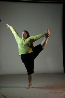 """Ragen Chastain, 5'4"""", 284lbs. Dances With Fat blog. What an inspiration!"""