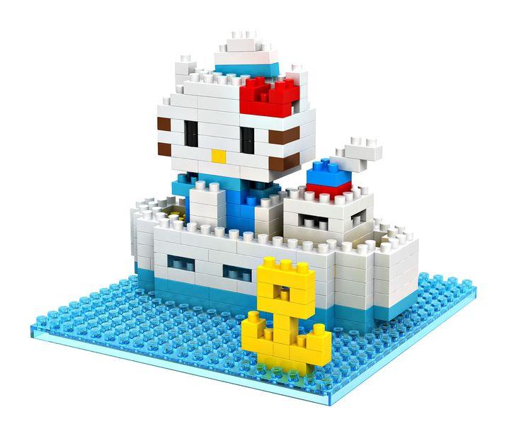 LOZ Hello Kitty Boat Building Blocks //Price: $5.95 & FREE Shipping //     #loz #lozblocks #toys #kids #building #blocks #lego