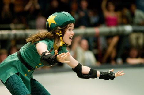 """The 2009 film """"Whip It,"""" starring Ellen Page and Drew Barrymore, shot in Austin and is reminiscent of Texas roller derby groups such as Texas Rollergirls right here in Austin!"""