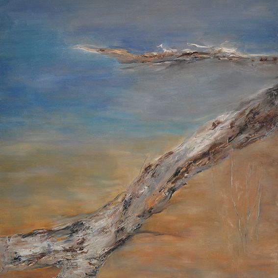 Korzenie realności Anna Forycka-Putiatycka, 1.z cyklu Romantyczne niepokoje, 7, olej na płótnie 110x110 cm, 2015