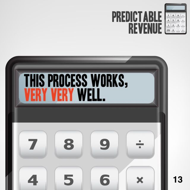 Predictable Revenue in 60 seconds. Want the 12-minute version? Get a free Readitfor.me account.