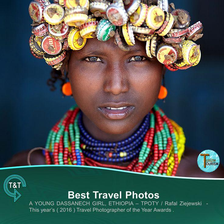 """Best Travel Photos """" A YOUNG DASSANECH GIRL """""""