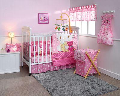 Hello Kitty Nursery Bedding
