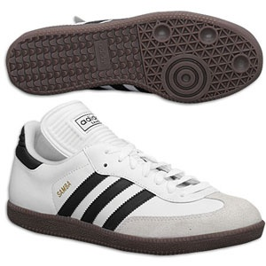 Sambas simply favorite shoe ever... (reminds me i need a new pair maybe two, one white on black and a black on white)