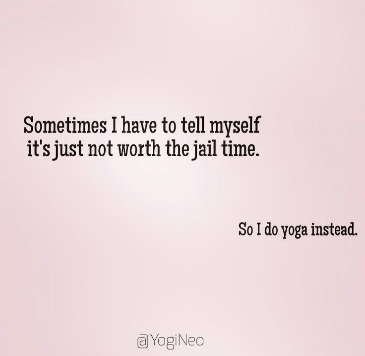 Yup! I need to start doing yoga for sure;-)