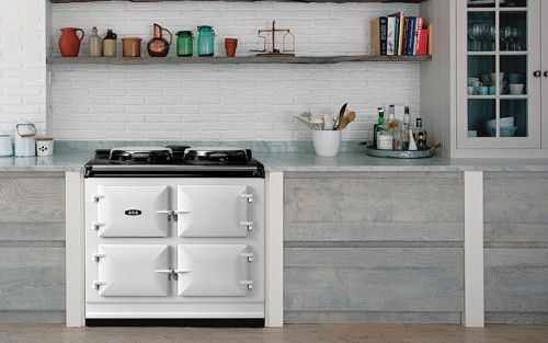 AGA ADC3EPAS 39 Inch Freestanding Electric Cooker with 2 Hot Plates and 3 Ovens - Roasting, Baking and Slow Cooking: Pearl Ashes