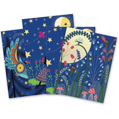 kraskaarten volle maan | djeco
