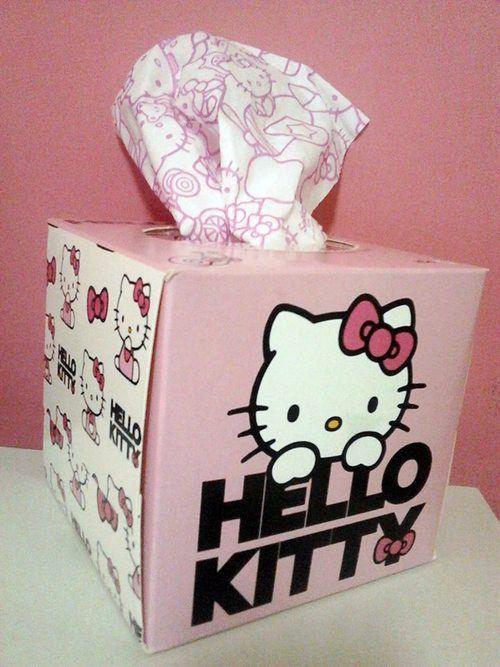 Hello Kitty Bedroom, Tissue Boxes