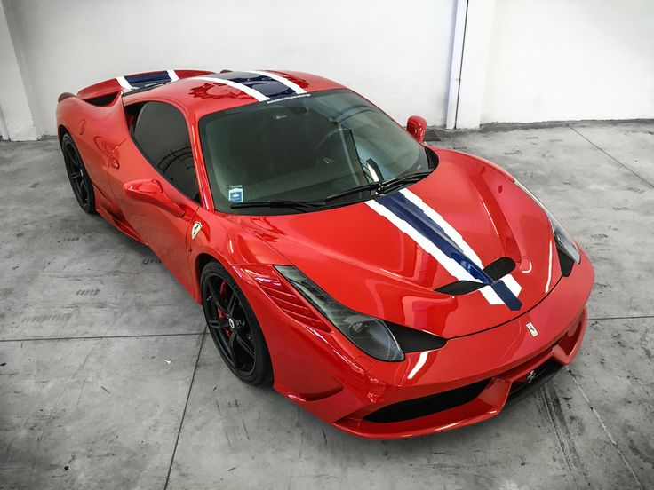 Ferrari 458 Speciale - New Livery