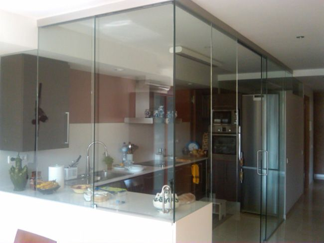Paredes de cristal cocina buscar con google design for Buscar cocina