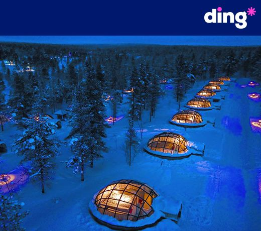 Wherever you are in the world, you can top-up with ding*! www.ding.com