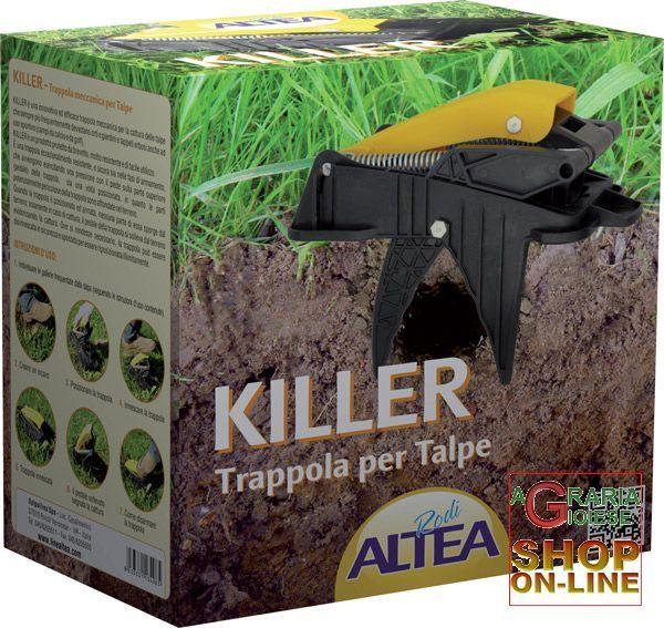 ALTEA KILLER TRAPPOLA MECCANICA PER TALPE E ARVICOLE https://www.chiaradecaria.it/it/trappole-per-talpe/416-altea-killer-trappola-meccanica-per-talpe-e-arvicole.html