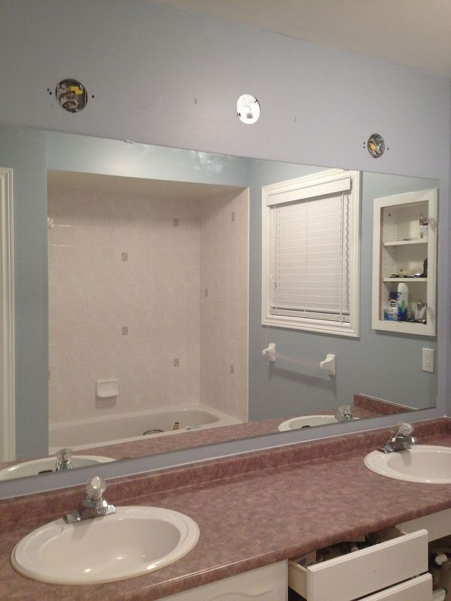 Large Bathroom Mirror Medicine Cabinet And Round
