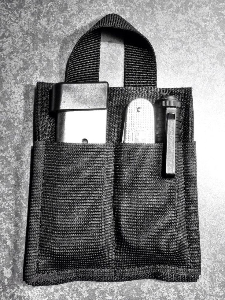 Pocket Organizer EDC Tactical Pouch #Handmade