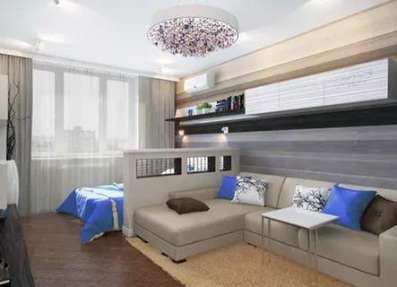 зонирование гостиной и спальни: 22 тыс изображений найдено в Яндекс.Картинках