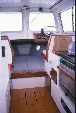 """Gartside Boats - Custom Boatbuilding - 22ft Motor Cruiser """"Jennifer"""", Design#74"""