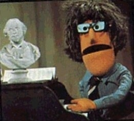 Awesome pin. Check out our pins: Sesame Street, Don Music, Muppets Sesame, Music Muppets, Favorite Muppets, Muppets Mania, Smiley, Music Compos, Genius Music