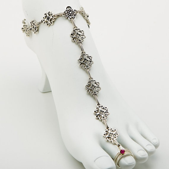 73 best images about toe ring anklets on