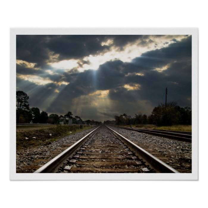 Customizable #Perspective #Rail#Transportation #Railroad #Railroad#Engineers #Railroad#Photograph #Railroad#Track #Train #Train#Lovers #Train#Track Train Track Disappearing into Sunset Poster available WorldWide on http://bit.ly/2hQF6Fq