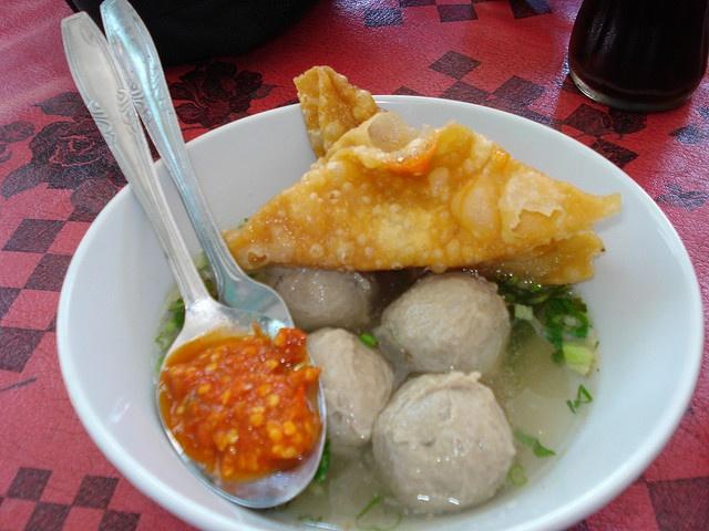Indonesian food: Bakso pasar Sukowati by bluemarine73, via Flickr