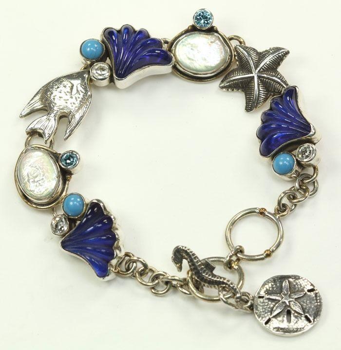 mars valentine deep blue sea bracelet - Mars And Valentine