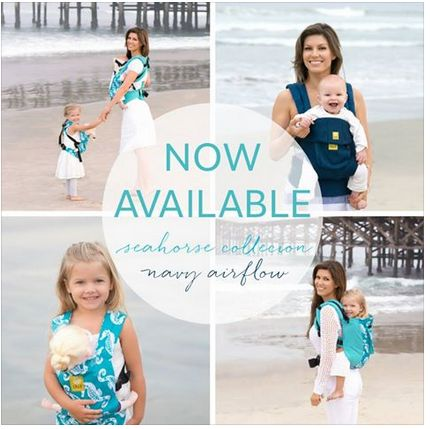 LILLE Baby Carriers // San Diego Beach Photography
