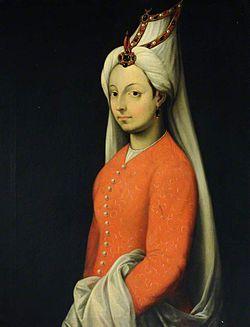 Mihrimah Sultan'ın İtalyan ressam Tiziano Vecellio tarafından yapılmış, Cameria adlı yağlıboya portresi, 16. yüzyıl-25 OCAK 1578 - Mihrimah Sultan, Kanuni Sultan Süleyman ve Hürrem Sultan'ın kızı (d. 1522)