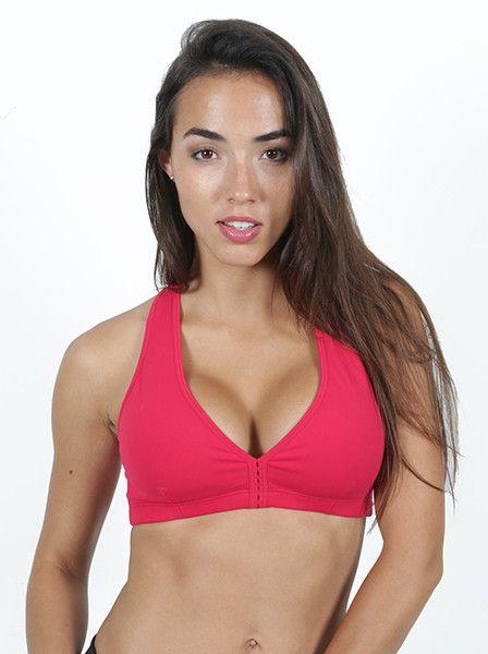 Danica Red Sports Bra