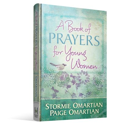 Stormie Omartian and her daughter-in-law, Paige Omartian, have come together for the first time to write a beautiful book of prayers just for the hearts of young women.
