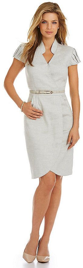 Antonio Melani Destiny Belted Dress