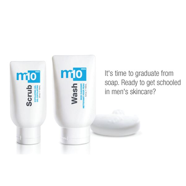 It's time to graduate from soap. #menskincare #skincare #madeinCanada #parabenfree