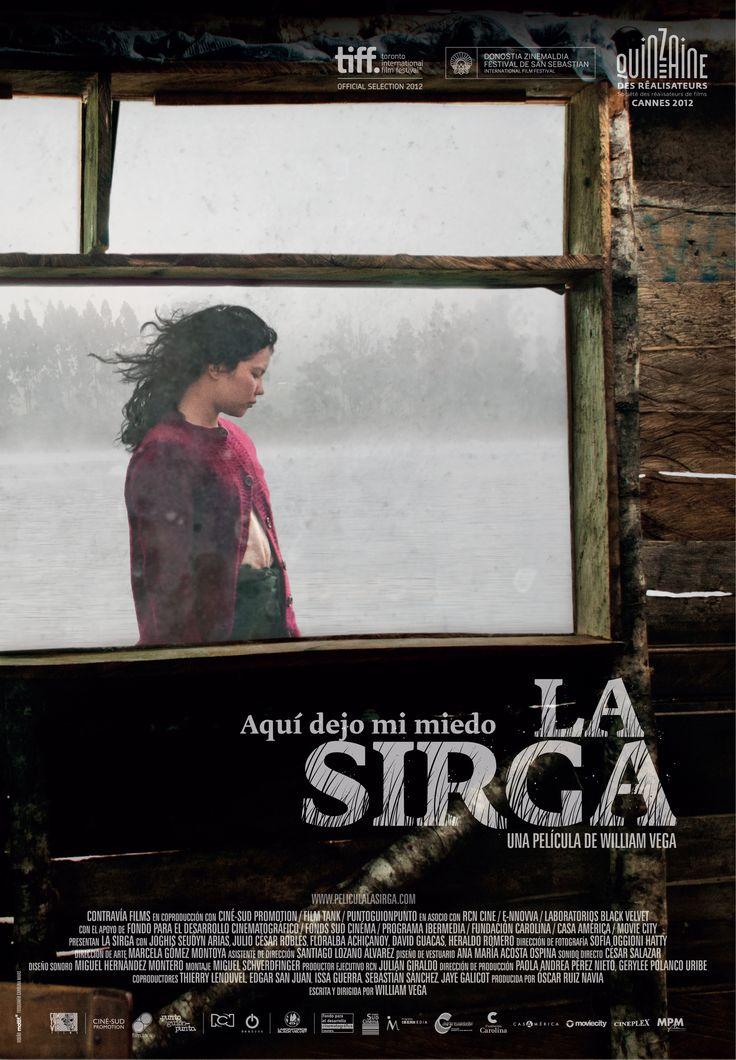 Afiche para la película 'La Sirga'