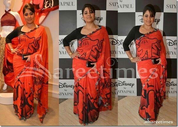 Satya Paul sari Disney launch