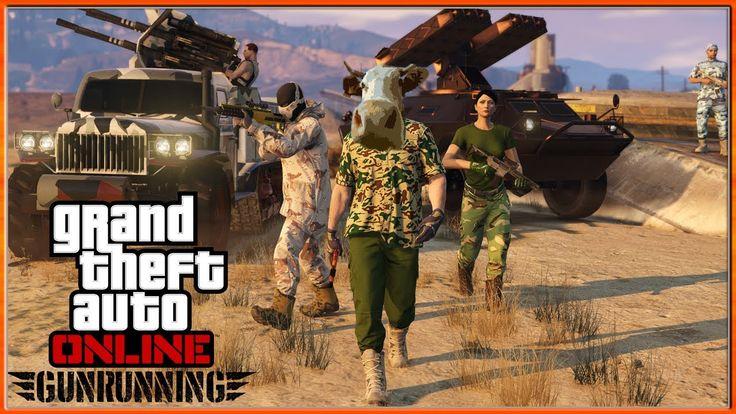 GTA 5 DLC GUNRUNNING https://www.youtube.com/watch?v=9bqpAqi2vMY #GTA5 #gtav #GTAOnline #DLC #Gunrunning #GunrunningDLC
