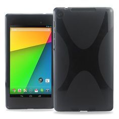 Hot New Release! KAYSCASE X-Shape TPU Back Case Cover for New Nexus 7 2013, 2nd Generation, Jelly Bean Android 4.3 (16GB / 32GB WiFi / 4G LTE),Compatible with ASUS Google Nexus 7 2 2.0 II Tablet 2013 Version (Black) - http://www.belokitech.com/kayscase-x-shape-tpu-back-case-cover-for-new-nexus-7-2013-2nd-generation-jelly-bean-android-4-3-16gb-32gb-wifi-4g-ltecompatible-with-asus-google-nexus-7-2-2-0-ii-tablet-2013-version-black/