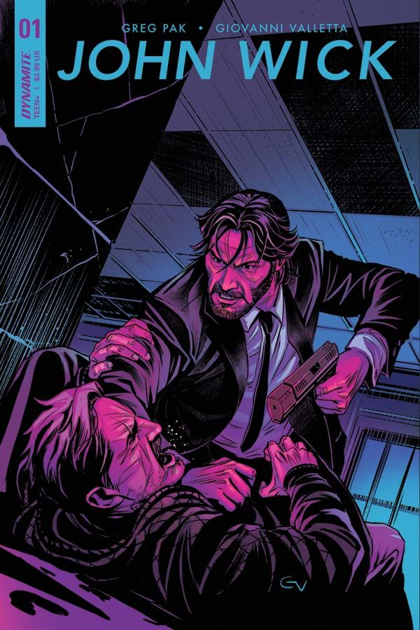 The hit-film franchise John Wick comes to the pages of comics, thanks to a new partnership between Dynamite Entertainment and Lionsgate Films.
