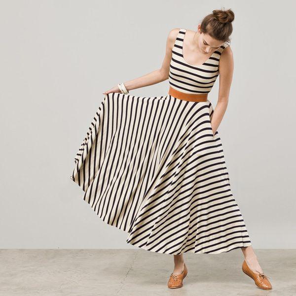 Nadia Tarr - Little French Stripe Dress