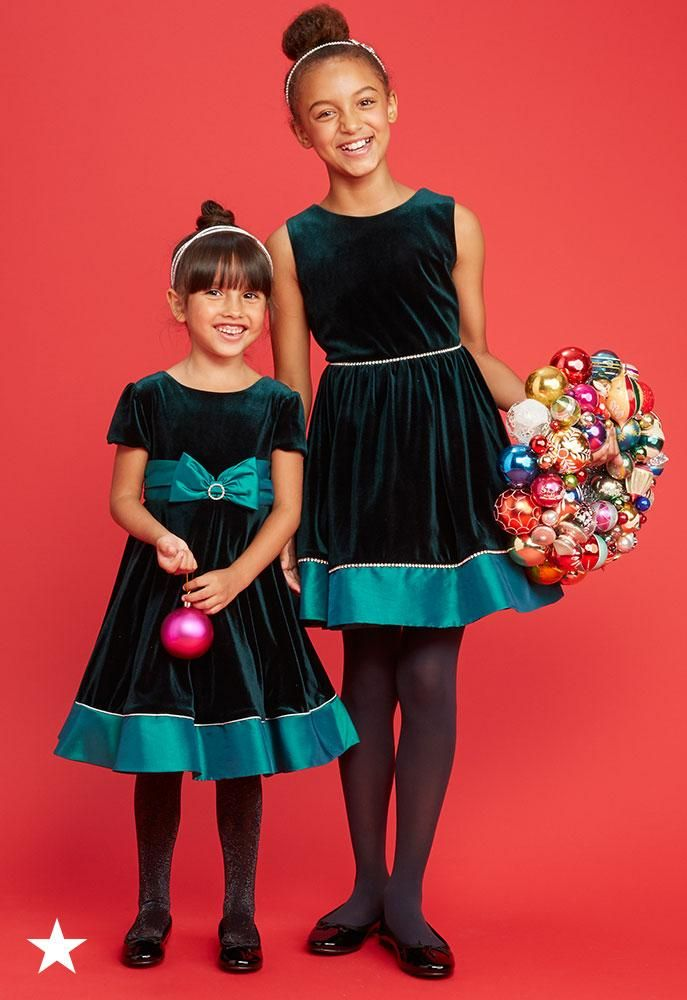 Two Cute Dress Your Little Girls In Beautiful Matching