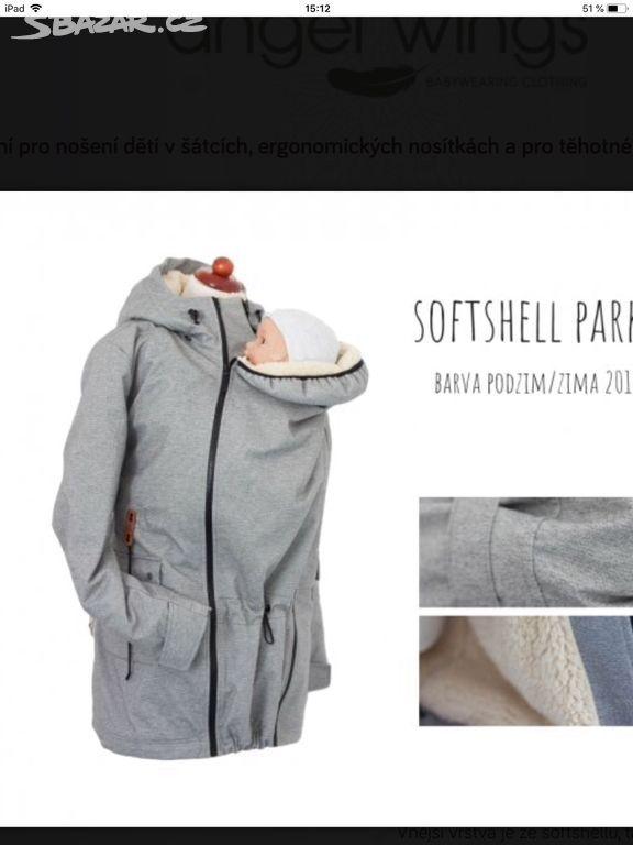 Prodám nosící bundu - kabát značky ANGEL WINGS s beránkem. Velmi dobrý  stav. Bundu lze využít jak v těhotenství 36fcfc1aa8